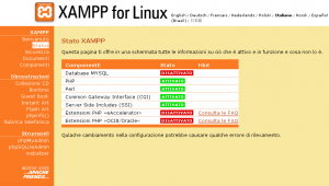 XAMPP is one of the quickest way to run a LAMP servers on your Windoze, Linux, or Mac computer.